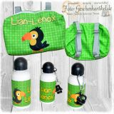Kiddy Backbag  *handmade + Alu-Trinkflasche
